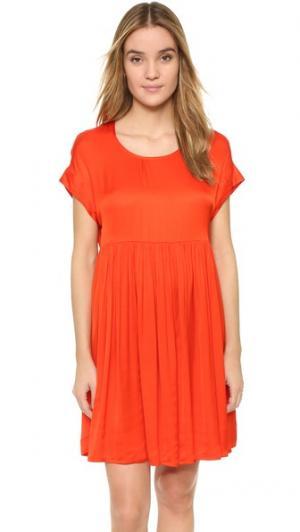 Платье Collie Gat Rimon. Цвет: оранжевый