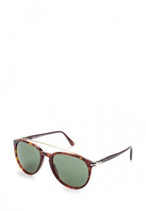 Очки солнцезащитные Persol. Цвет: коричневый