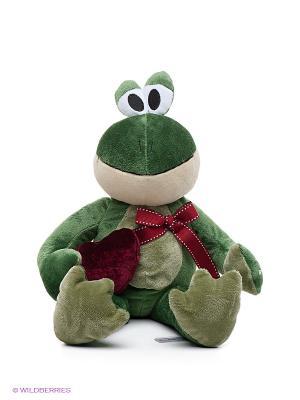 Игрушка Лягушонок Лила MAXITOYS. Цвет: зеленый