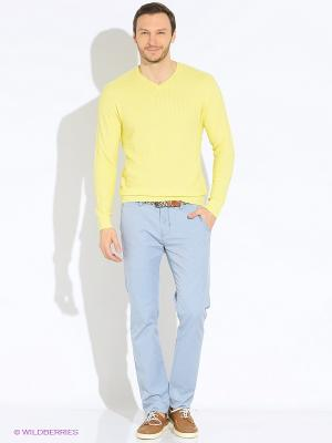Пуловер Greg Horman. Цвет: желтый