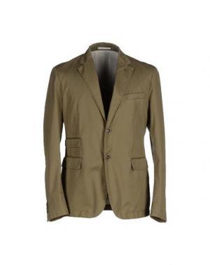 Пиджак ADHOC. Цвет: зеленый-милитари