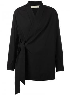 Куртка с запахом Damir Doma. Цвет: чёрный