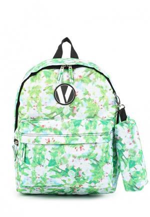Рюкзак Veegul. Цвет: зеленый