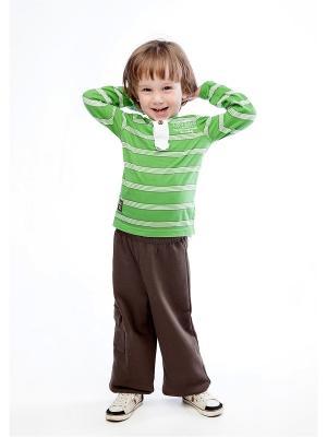 Спортивные брюки LOVEDO. Цвет: темно-коричневый