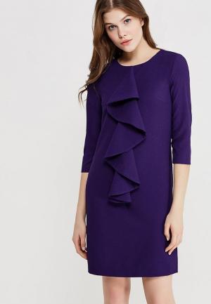 Платье Clabin. Цвет: фиолетовый