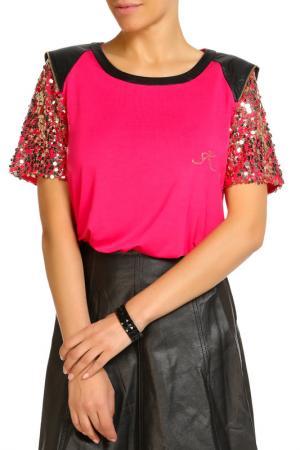 Блуза SARAH KERN. Цвет: ягодный