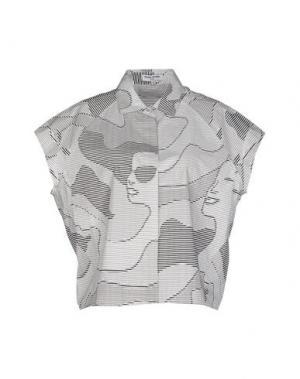 Pубашка OPENING CEREMONY. Цвет: белый