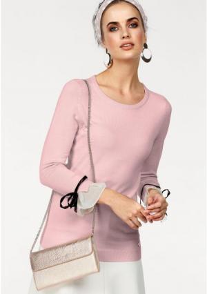 Пуловер BRUNO BANANI. Цвет: розовый