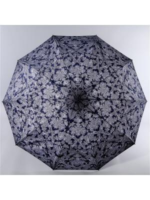 Зонт Zest. Цвет: серый, белый, сливовый