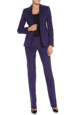 Костюм: пиджак, брюки Costume National. Цвет: фиолетовый
