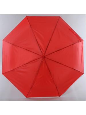 Зонт Torm, Женский, 3 сложения, Автомат,  Полиэстер Torm. Цвет: красный