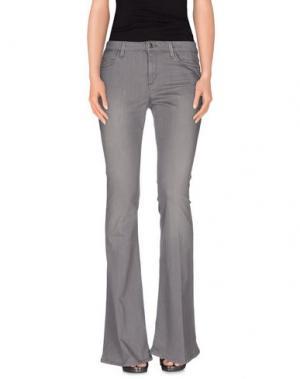 Джинсовые брюки JOE'S JEANS. Цвет: серый