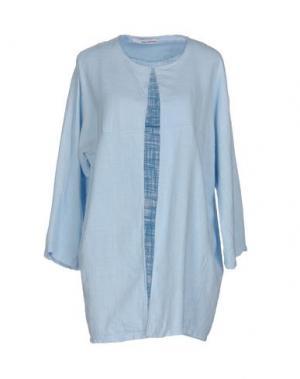 Легкое пальто CHILI PEPPERS. Цвет: небесно-голубой