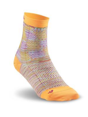 Носки Craft. Цвет: оранжевый