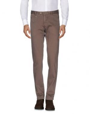 Повседневные брюки BERWICH. Цвет: хаки