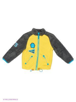 Куртка PELICAN. Цвет: желтый