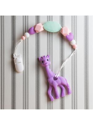 Игрушки-подвески Краски лета. Цвет: фиолетовый, розовый