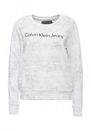Свитшот Calvin Klein Jeans. Цвет: белый