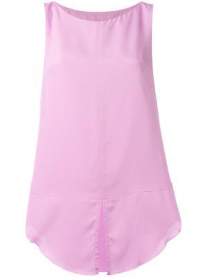 Топ Hisa Dondup. Цвет: розовый и фиолетовый