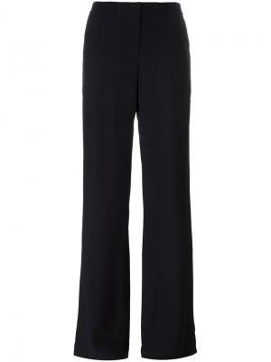 Расклешенные брюки Akris Punto. Цвет: синий