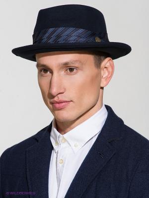 Шляпа Goorin Brothers. Цвет: темно-синий