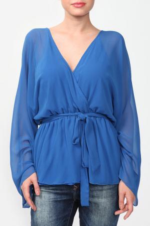 Рубашка Bebe. Цвет: синий