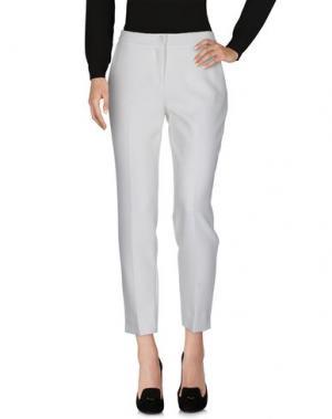 Повседневные брюки REVÓ. Цвет: белый
