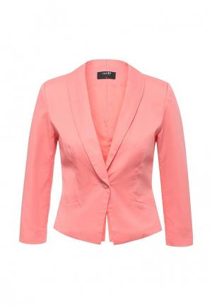 Пиджак oodji. Цвет: розовый