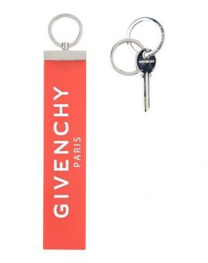 Брелок для ключей GIVENCHY. Цвет: красный