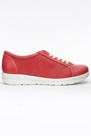 Туфли DERIMOD. Цвет: красный
