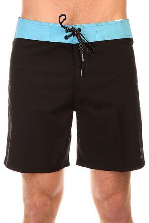 Шорты пляжные  All Day X Short. 17 Black Billabong. Цвет: черный,голубой