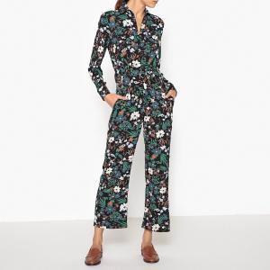Комбинезон с брюками, рисунком GAETAN TOUPY. Цвет: цветочный рисунок