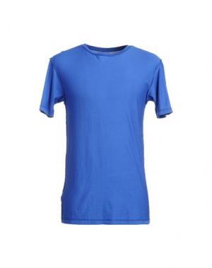 Футболка с короткими рукавами DOODSKI. Цвет: синий