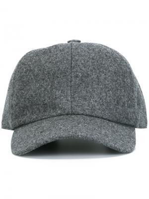 Классическая кепка Harmony Paris. Цвет: серый
