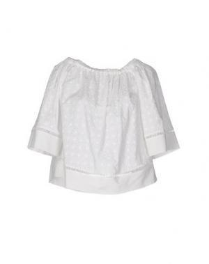 Блузка HOPE COLLECTION. Цвет: белый