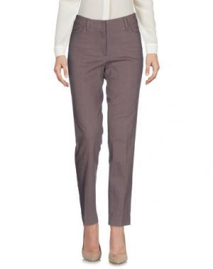 Повседневные брюки GUNEX. Цвет: светло-коричневый