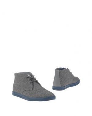 Полусапоги и высокие ботинки CLAE. Цвет: свинцово-серый