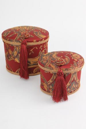Коробочки овальные 2 предмета Jennifer Taylor. Цвет: мультицвет