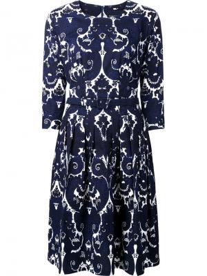 Rachel Jewel dress Samantha Sung. Цвет: синий