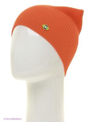 Шапка ELFRIO. Цвет: оранжевый