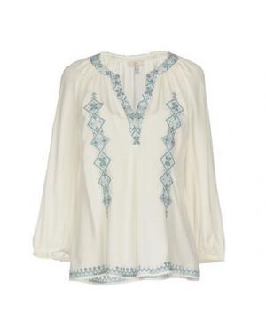 Блузка JOIE. Цвет: белый