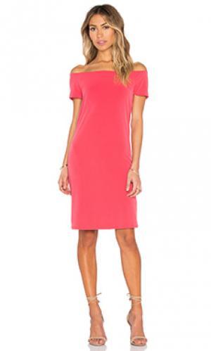 Платье sorana Velvet by Graham & Spencer. Цвет: красный