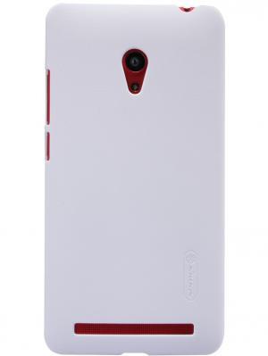 Накладка Super Frosted Shield Asus ZenFone 6 Nillkin. Цвет: белый