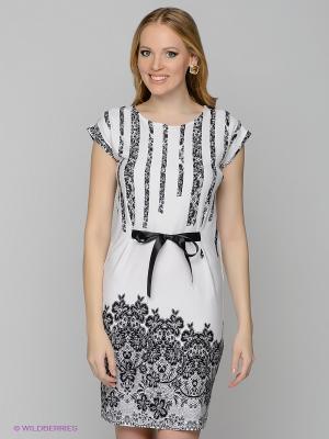 Платье Remix. Цвет: белый, черный