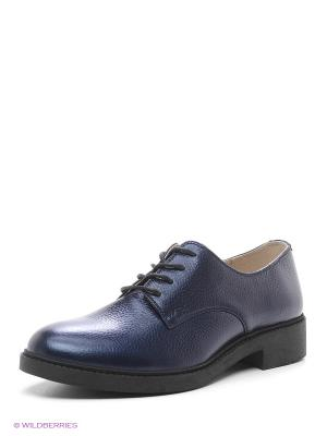 Туфли HCS. Цвет: синий