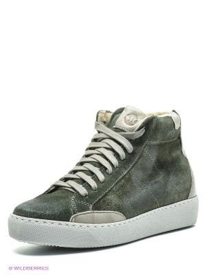 Ботинки SK. Цвет: хаки