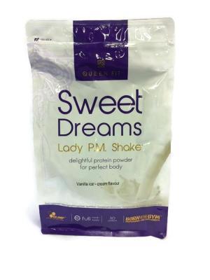 Протеин  Sweet Dreams Lady p.m. protein shake (ваниль) 750 гр Olimp Nutrition. Цвет: белый, фиолетовый