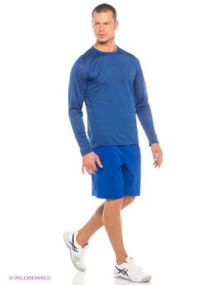 Шорты Woven Short 9-inch ASICS. Цвет: синий