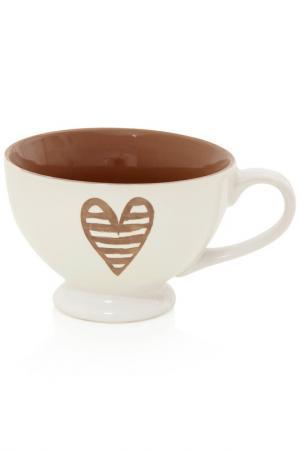 Чаша для завтрака Brandani. Цвет: белый