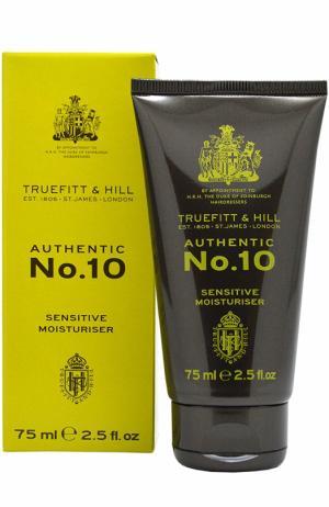 Увлажняющее средство для чувствительной кожи Authentic No.10 Truefitt&Hill. Цвет: бесцветный